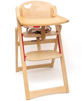 Lipper Brown Folding High Chair