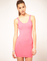 Flouro Mini Tank Dress
