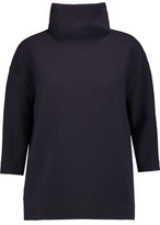 Goat Venn Wool-Crepe Turtleneck Top
