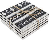 Thirstystone Inverted Tribal 4-Pc. Occasions Coaster Set