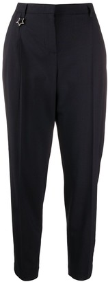 Lorena Antoniazzi Star Charm Detail Cropped Trousers