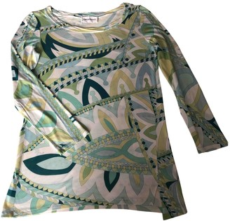 Emilio Pucci Green Top for Women Vintage
