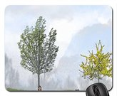 ToLuL bugs & trees Mouse Pad, Mousepad (Forests Mouse Pad)