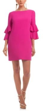 Trina Turk Leona Ruffle-Sleeve Dress