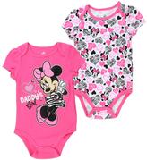 Disney Minnie Mouse 'Daddy's Girl' Bodysuit Set