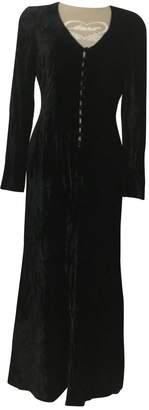 Georges Rech Black Wool Dress for Women Vintage