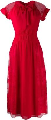 Three floor Centifolia dress