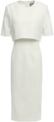 Jason Wu Collection Layered Crepe Midi Dress