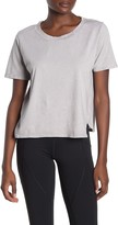 Zella Z By Tuck Up Short Sleeve Washed Studio T-Shirt