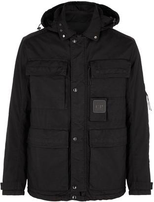 C.P. Company Taylon black hooded nylon jacket