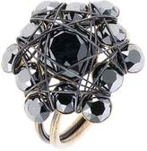 Konplott Ring black antique brass