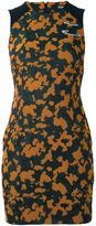 Versus camouflage print fitted dress