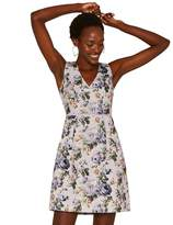 Oasis Multi Lilac 'Provence' Rose Skater Dress