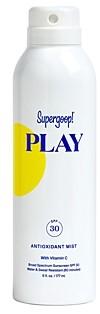 Supergoop! Play Antioxidant Body Mist Spf 30 with Vitamin C 6 oz.