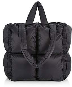 Off-White Women's Small Quilted Puff Tote