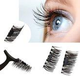 Bnstore Ultr-thin 0.4mm Mgnetic Eye Lshes 3D Reusblelse Mgnet Eyelshes