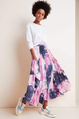 S/W/F Calliope Tie-Dyed Maxi Skirt