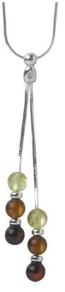 Nature d'Ambre 3170499 Women's Necklace Silver 925/1000/Amber 43 cm