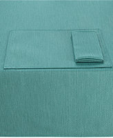 "Noritake Colorwave Turquoise Collection 60"" x 102"" Tablecloth"