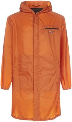 Prada Logo Plaque Raincoat