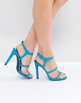 New Look Neon Strappy Heeled Sandal