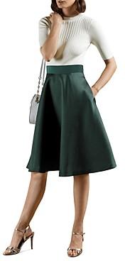 Ted Baker Betsiyy Stitch Detail Full Skirted Dress
