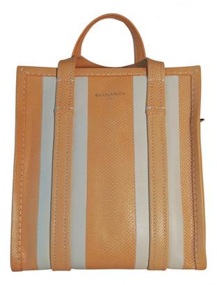 Balenciaga Bazar Bag Yellow Exotic leathers Handbags