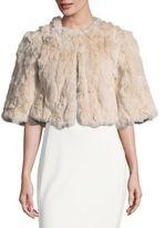 Linda Richards Rex Rabbit Fur Shrug