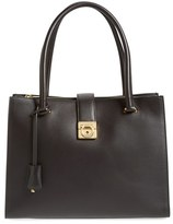 Salvatore Ferragamo 'Marlene' Shopper - Black