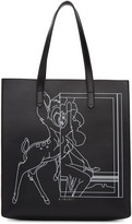 Givenchy Black Medium Bambi Stargate Tote