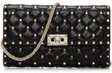 Valentino Nappa Rockstud Spike Shoulder Bag - Clutch