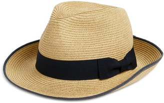 Halogen Packable Woven Trilby