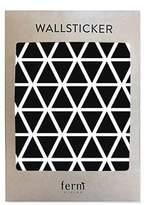ferm LIVING Black Mini Triangles Wall Stickers