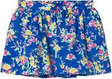 Ralph Lauren Blue Floral Skirt