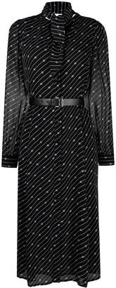 MICHAEL Michael Kors Monogram-Print Shirt Dress
