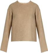 Simon Miller Ames raw-edge alpaca sweater