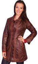 Scully Women's Chestnut Lamb Coat L639 - Chestnut Lamb Western Clothing