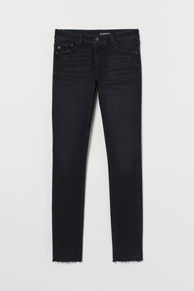 H&M Shaping Low Jeans - Black