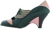 Poetic Licence Turnstile Maven Heel in Green and Rose