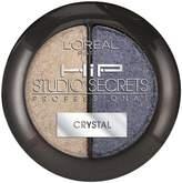 L'Oreal HiP Studio Secrets Professional Crystal Shadow Duos, 0.08 Ounce