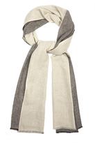 Denis Colomb Colour-block cashmere scarf