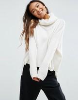 Shae Oversized Turtleneck Sweater