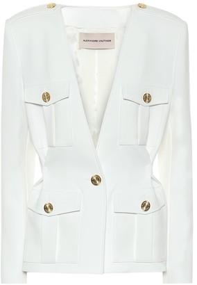 Alexandre Vauthier Single-breasted collarless blazer