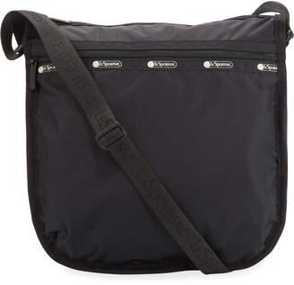 Le Sport Sac Rebecca Top-Zip Nylon Hobo Bag