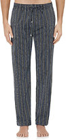 Barneys New York Men's Striped Pajama Pants-NAVY, WHITE