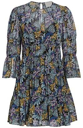 Cinq à Sept June Paradise Floral Mini Dress