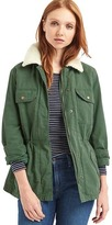 Gap Sherpa-lined utility jacket