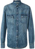 Dolce & Gabbana distressed western shirt
