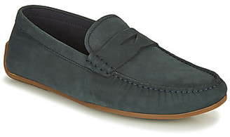 Clarks REAZOR PENNY men's Loafers / Casual Shoes in Blue