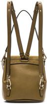 Chloé Small Faye Suede & Calfskin Backpack